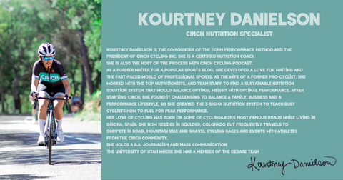 Kourtney Danielson CINCH Nutrition Specialist Coach Certified