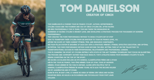 Tom Danielson Cinch Cycling Coach