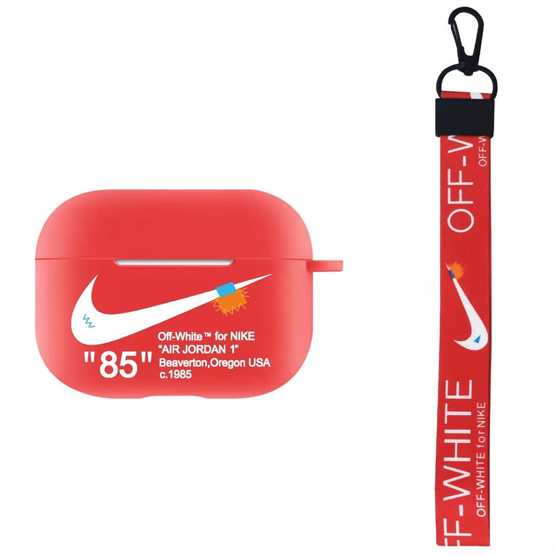 Nike x Off White Inspired Apple AirPods Case - HAUS OF RISS