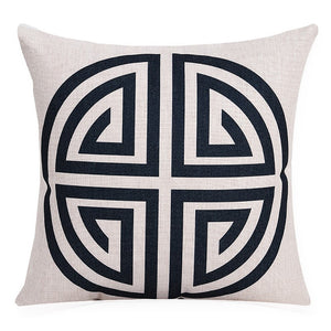 Geometric Icon Cushion