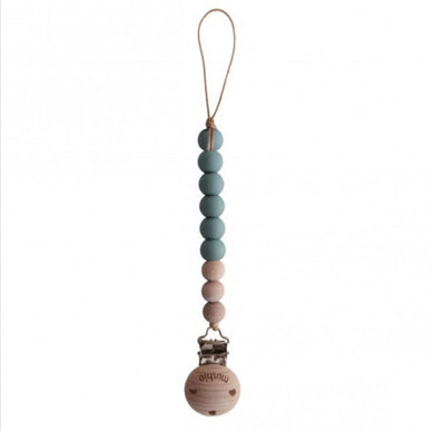 MUSHIE - SPEENKETTING CLEO - CADET BLUE/WOOD
