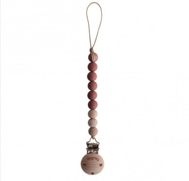 MUSHIE - SPEENKETTING CLEO - RED/WOOD