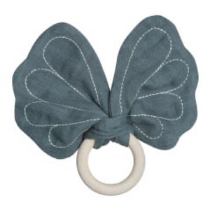 Fabelab - Teether Butterfly - Blue Spruce