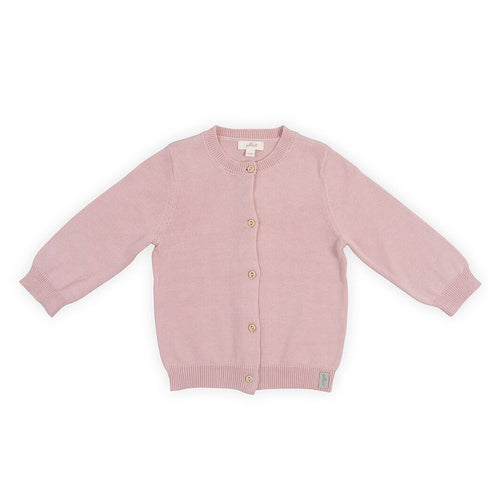 Jollein Vestje Pretty knit blush pink