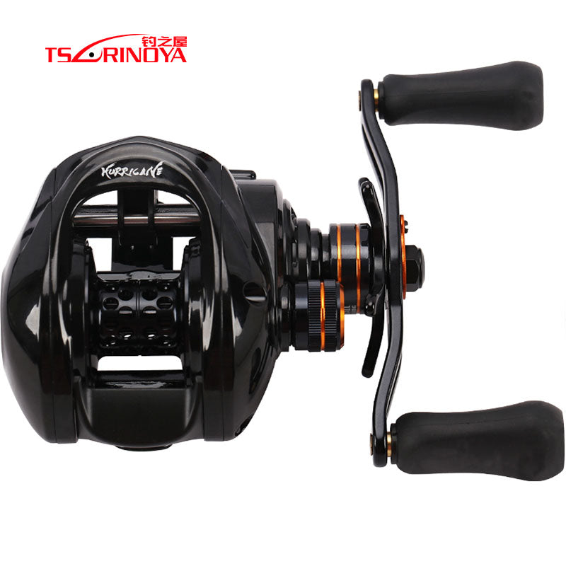 DEEP SEA FISHING REEL HE-150 BAIT CASTING REEL 6+1BB 6.6:1