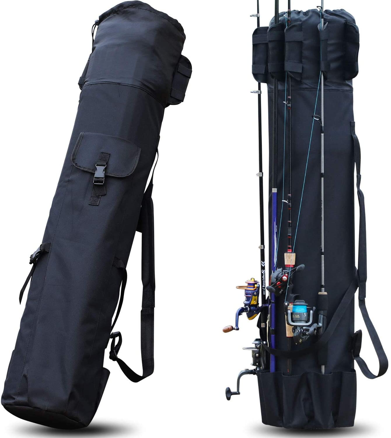 Portable Fishing Rod Bag Organizer