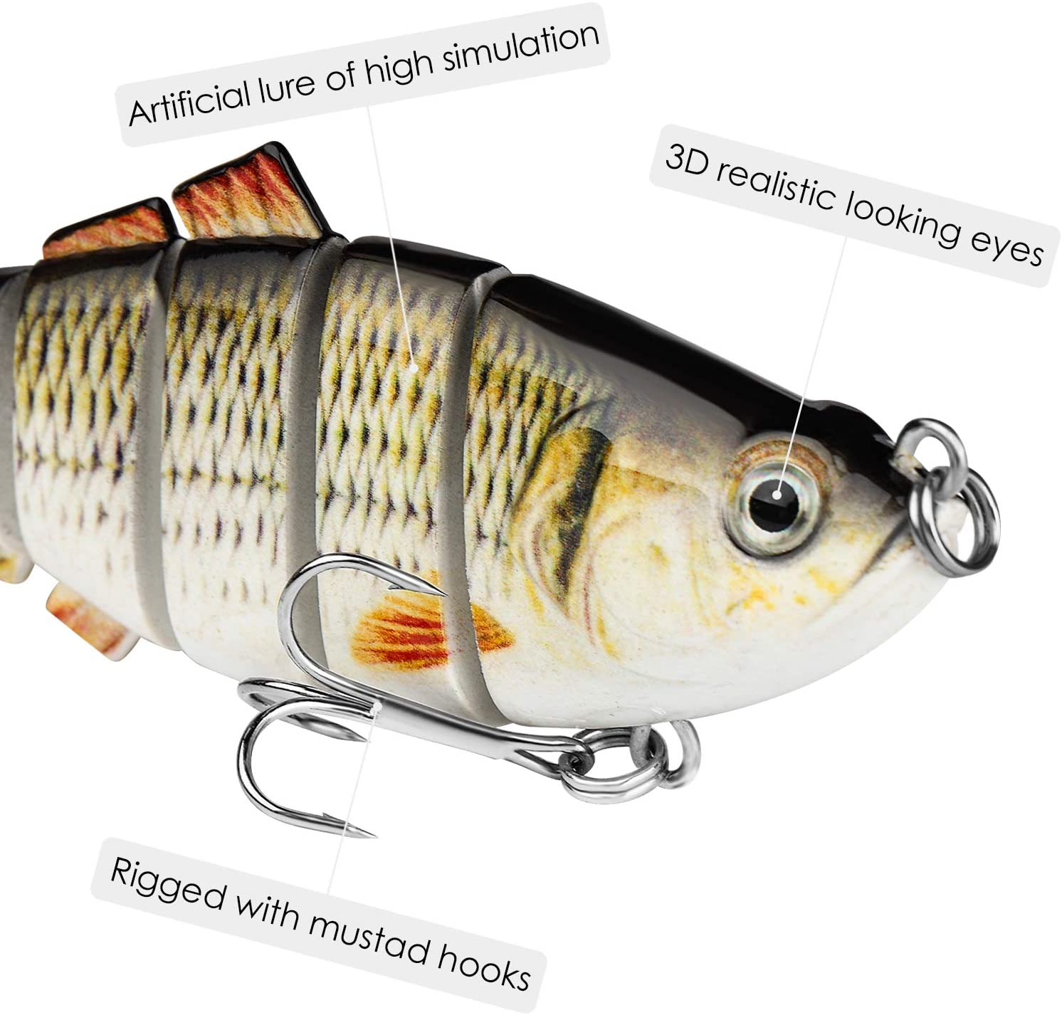 FishersTribe™ Lifelike Fishing Lures