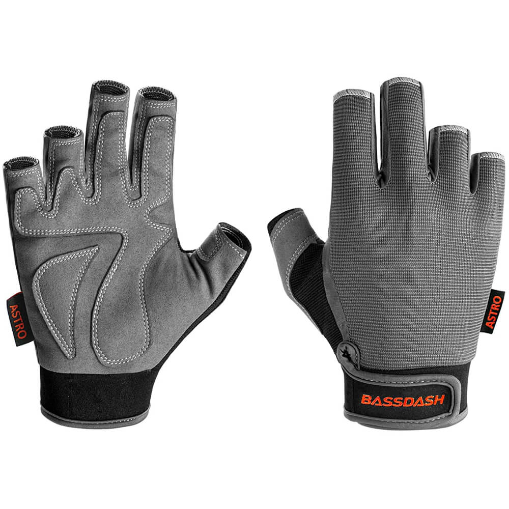 Heavy-Duty Grip Fishing Gloves
