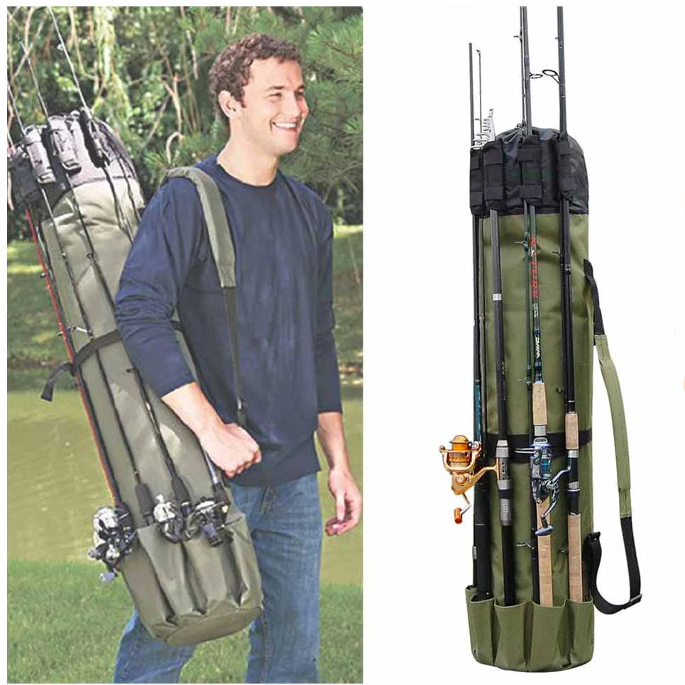 ALL-IN-ONE Fishing Rod Bag Holders