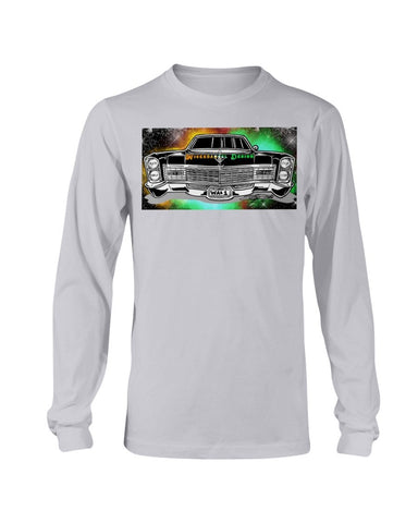 Cadillac Tattoo - Wickedangel Design Long Sleeve T-Shirt