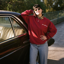 Load image into Gallery viewer, The Marías - Classic Crimson Crewneck