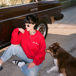 The Marías - Classic Crimson Crewneck