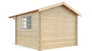 10 x 10 Wood Garden Shed Kit