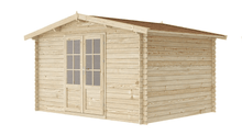 Load image into Gallery viewer, 12 ft x 10 ft Wood Shed Kit - WoodenShedKits
