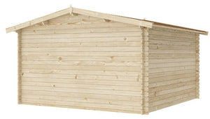 12 ft x 12 ft Wood Shed Kit - WoodenShedKits