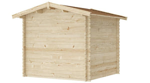 8 ft x 8 ft Wood Shed Kit - WoodenShedKits