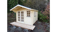 Load image into Gallery viewer, 10 x 10 Wood Garden Shed Kit