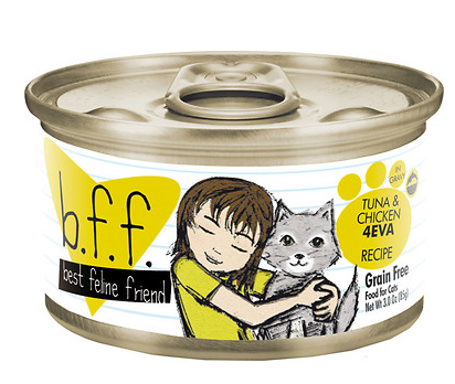 BFF Tuna & Chicken 4 EVA Canned Cat Food Case