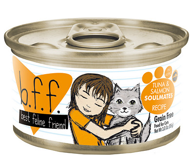 BFF Tuna & Salmon Soulmate Canned Cat Food Case