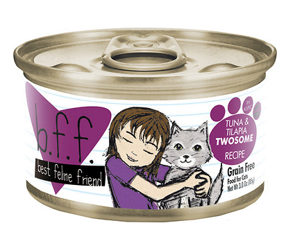 BFF Tuna & Tilapia Twosome Canned Cat Food Case