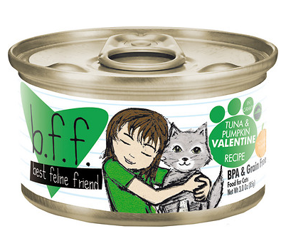 BFF Tuna & Pumpkin Valentine Canned Cat Food Case