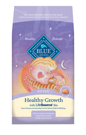 BLUE BUFFALO Chicken & Brown Rice Kitten Food