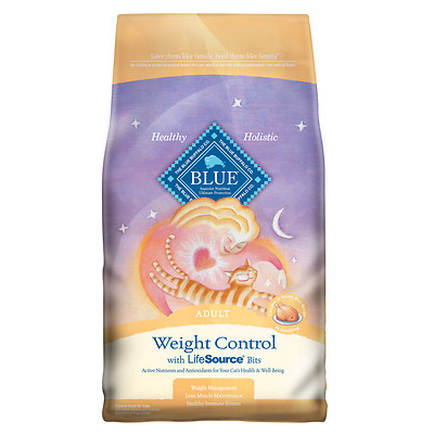 BLUE BUFFALO Weight Control Chicken & Brown Rice Cat Food