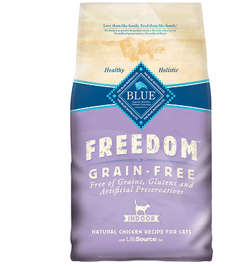BLUE BUFFALO Freedom Indoor Grain-Free Dry Cat Food