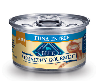 BLUE BUFFALO Healthy Gourmet Flaked Tuna Canned Cat Food 24/3 oz