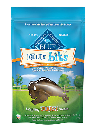 BLUE BUFFALO Bits Turkey Dog Treats 4 oz