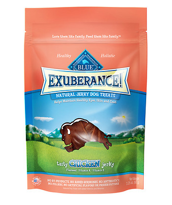 BLUE BUFFALO Exuberance Chicken Jerky 3.25 oz