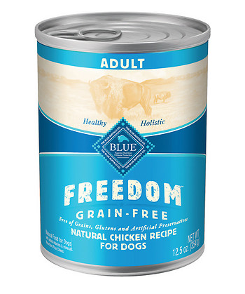 BLUE BUFFALO Freedom Grain-Free Chicken Canned Dog Food 12/12.5 oz