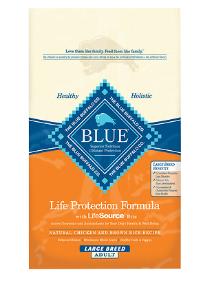 BLUE BUFFALO Large Breed Chicken and Brown Rice Dry Dog Food