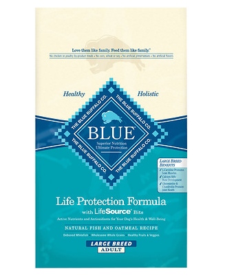 BLUE BUFFALO Large Breed Fish and Oatmeal Dry Dog Food