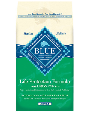 BLUE BUFFALO Lamb and Brown Rice Dry Dog Food