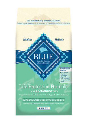 BLUE BUFFALO Puppy Lamb and Oatmeal Dry Dog Food