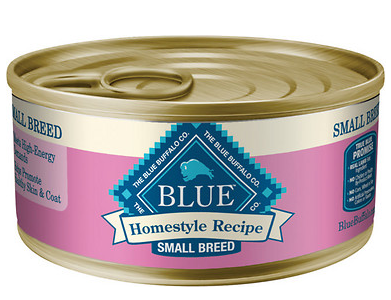 BLUE BUFFALO Small Breed Chicken Canned Dog Food 24/5.5 oz