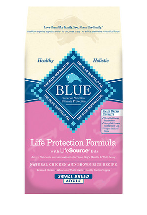 BLUE BUFFALO Small Breed Chicken and Brown Rice Dry Dog Food