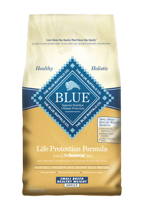 BLUE BUFFALO Small Breed Healthy Weight Dry Dog Food