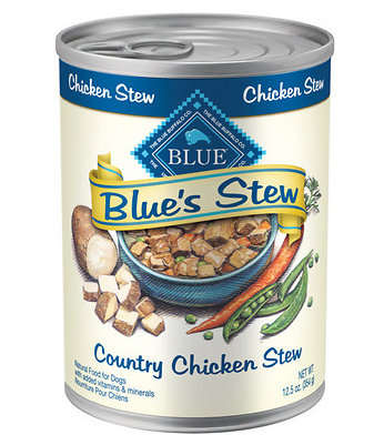 BLUE BUFFALO Chicken Stew Canned Dog Food 12/12.5 oz