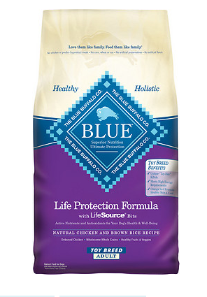 BLUE BUFFALO Toy Breed Dry Dog Food 4 lb