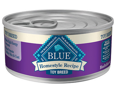 BLUE BUFFALO Toy Breed Chicken Canned Dog Food 24/5.5 oz