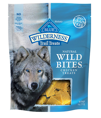 BLUE BUFFALO Wilderness Grain-Free Chicken Bites 4 oz