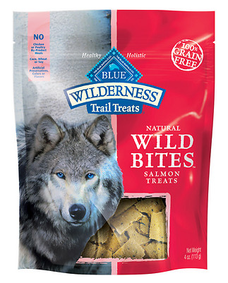 BLUE BUFFALO Wilderness Grain-Free Salmon Bites 4 oz
