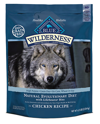 BLUE BUFFALO Wilderness Grain-Free Chicken Dry Dog Food