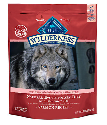 BLUE BUFFALO Wilderness Grain-Free Salmon Dry Dog Food