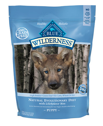 BLUE BUFFALO Wilderness Grain-Free Puppy Chicken Dry Dog Food