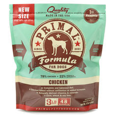 PRIMAL Frozen Raw Canine Chicken Formula