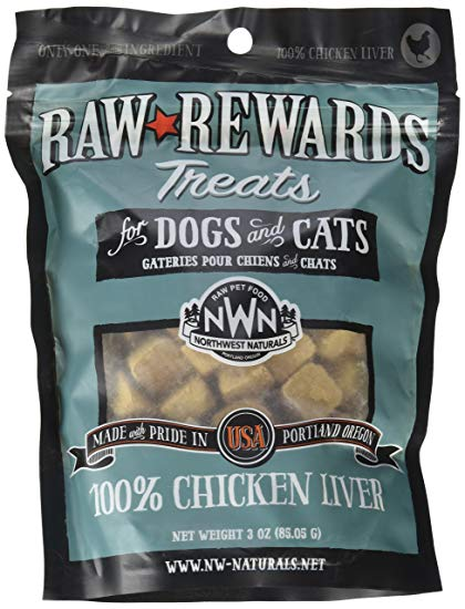 NORTHWEST NATURALS Freezedried Chicken Liver Treat