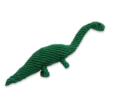 GOOD KARMA Rope Dino Toy